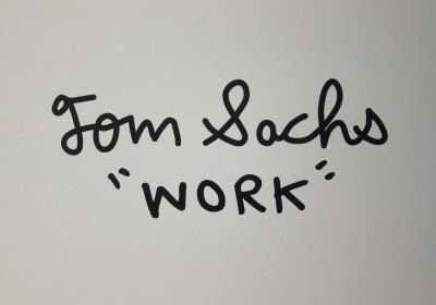 Tom Sachs Sperone Westwater Works AM  01