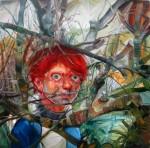 -16- El bosque embalsamado -110 x 110 cm.- 2010