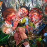 -17- El martirio de San Sebastian -110 x 110 cm.- 2010