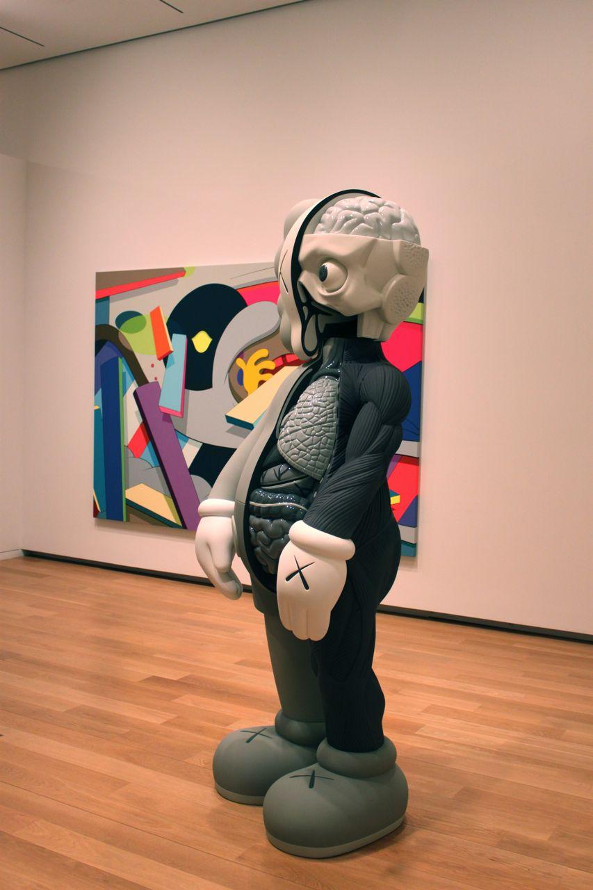 Kaws Modern Art Museum Fort Worth Am 10 171 Arrested Motion