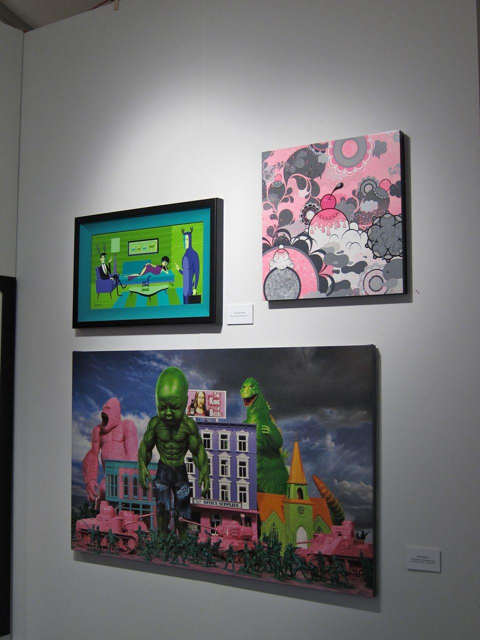 Scope Miami Corey Helford Gallery AM 21