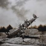 michael-peck_spitfire_198x198cm_0il-on-linen_2011