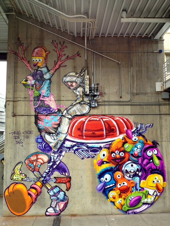 Streets david choe dvs 1 joseph to denver arrested for David choe mural
