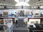 London Art Fair, shortly before Tuesday's opening
