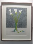 David Hockney: 'Lillies (Still Life)'. 1971. Original handsigned and numbered lithograph on Japan paper. Gilden's Art Gallery, London