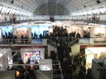 London Art Fair, Tuesday evening