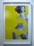 Gerald Laing: 'Sandra'. 1968. Screenprint in colours. Edition of 200. Sims Reed Gallery, London