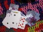 Olek playing cards
