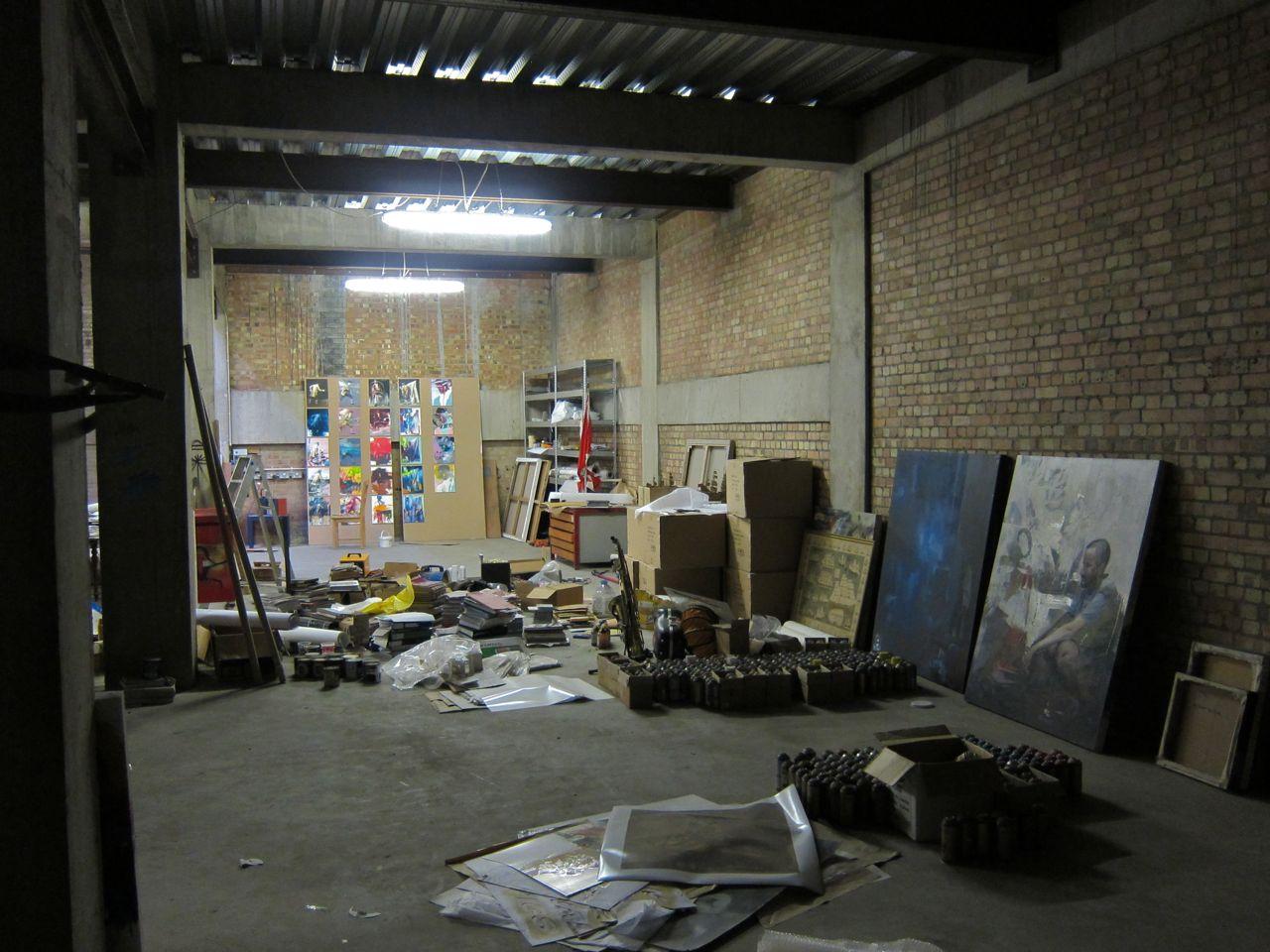 Conor Harrington Studio Visit Dead Meat AM 01