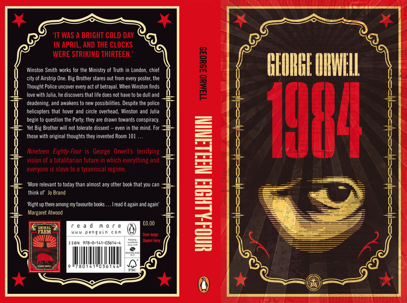 the literary techniques in 1984 a novel by george orwell 20102005  this is a study guide for the book 1984 (nineteen eighty-four) written by george orwell is a dystopian novel about oceania, a society ruled by the.