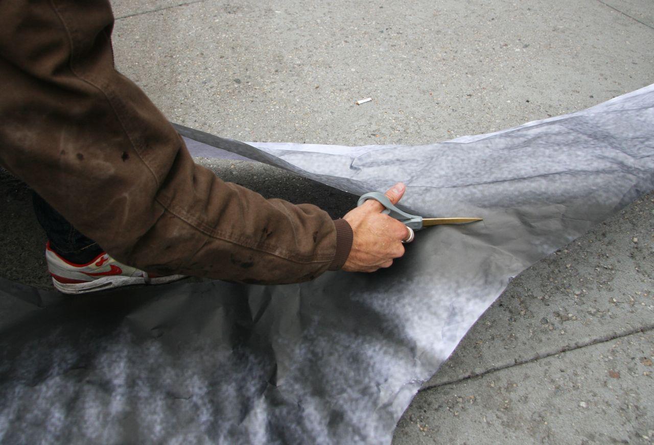 Liu Bolin JR NYC mural AM 16