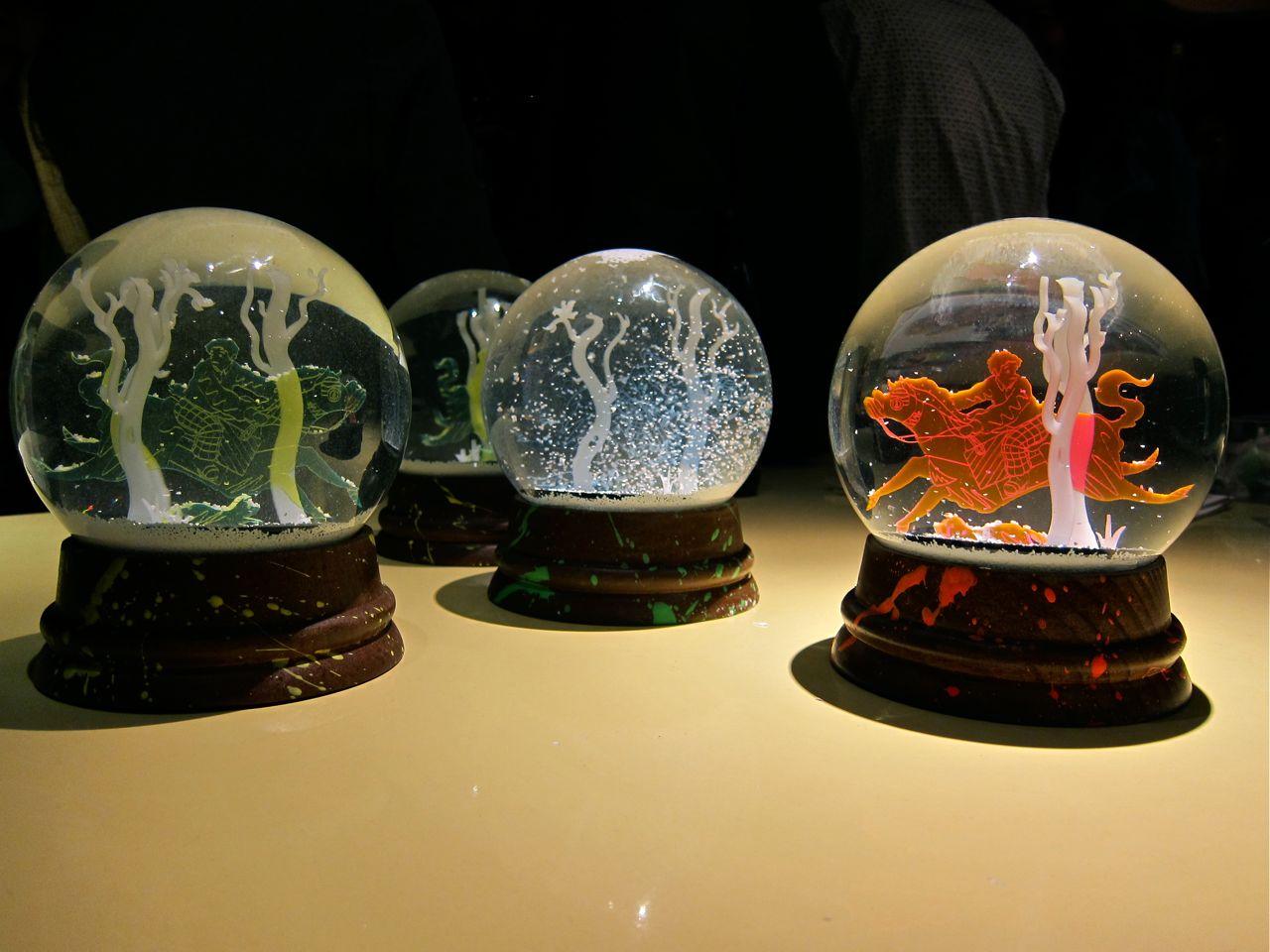 openings tomokazu matsuyama x the standard snow globes arrested motion