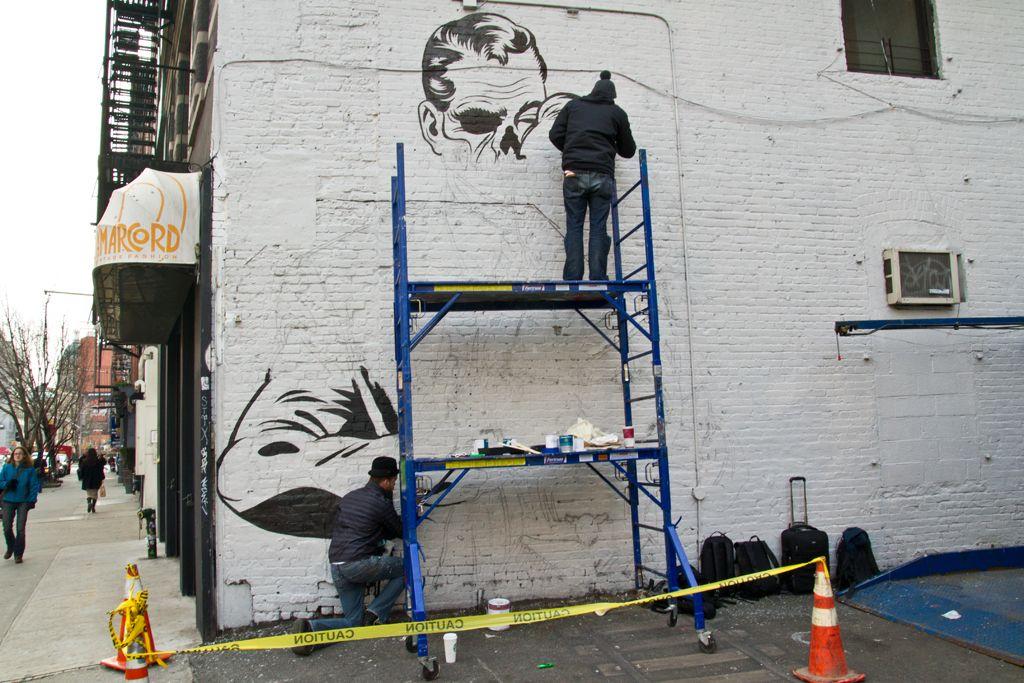 DFACE NYC streets SOHO AM 01