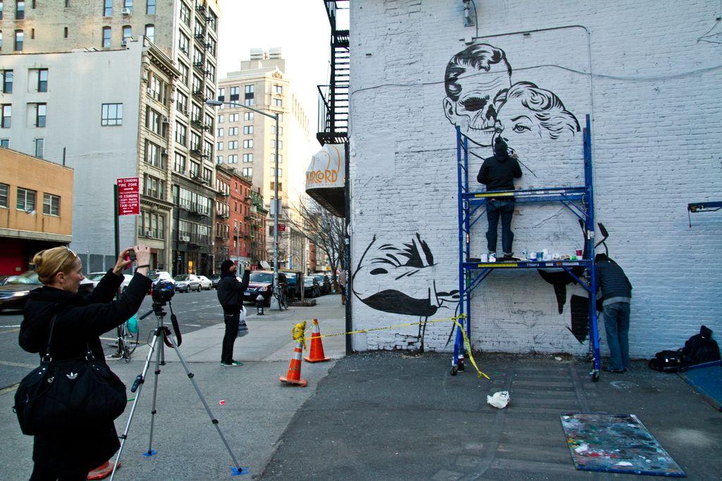 DFACE NYC streets SOHO AM 07