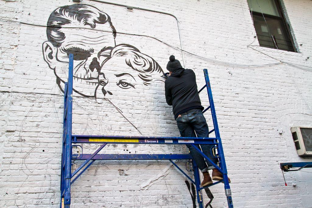 DFACE NYC streets SOHO AM 08