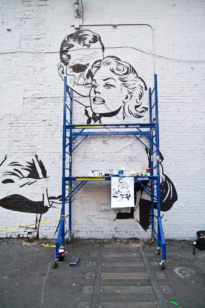 DFACE NYC streets SOHO AM 10