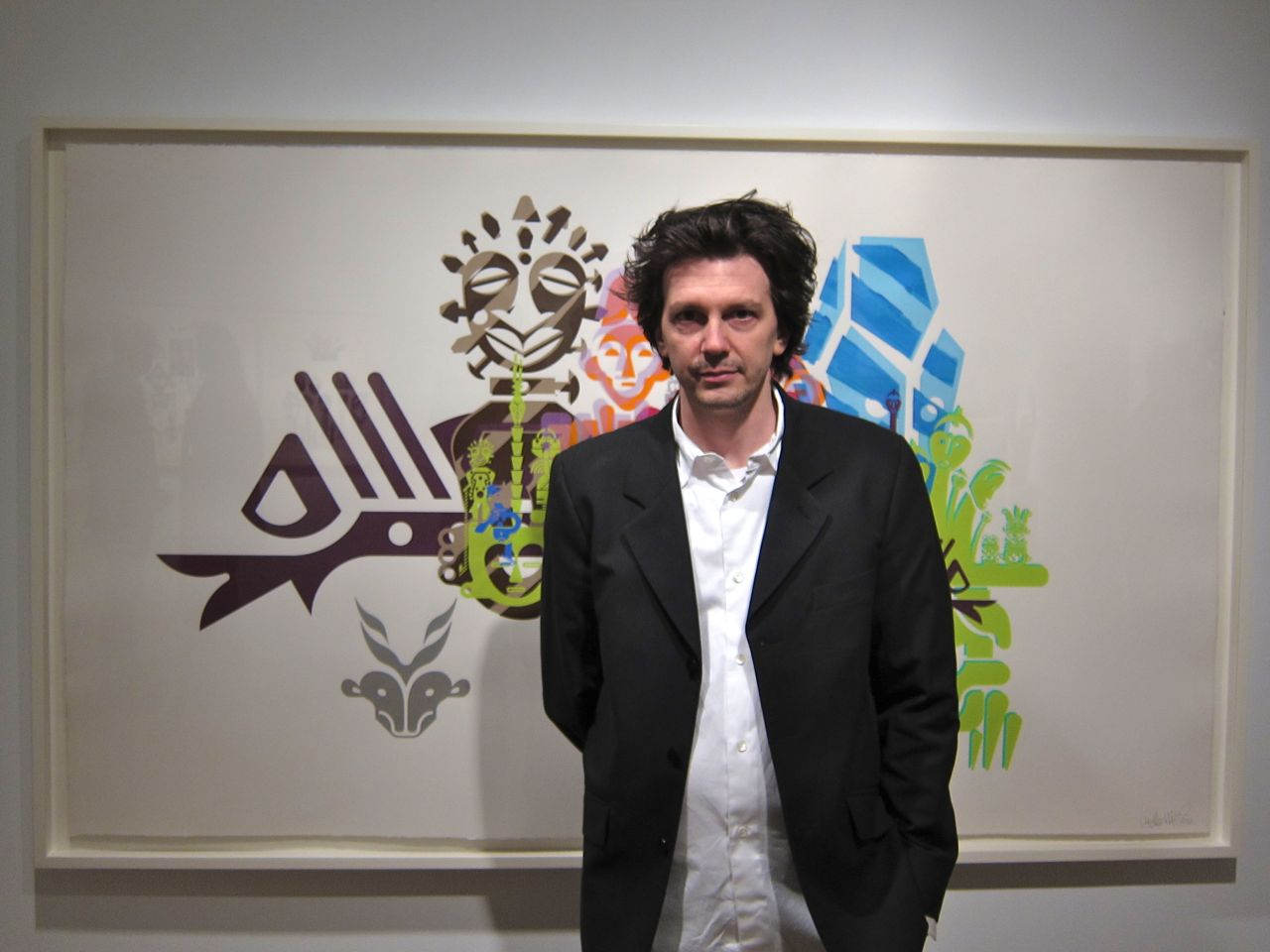 Ryan McGinness Geometric Primiatives Pace AM 32