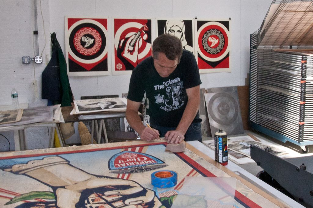 Shepard Fairey Pace Harmony AM 01