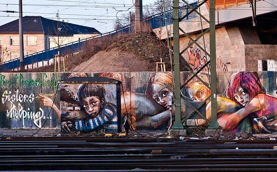 herakut+mannheim+streetartnews