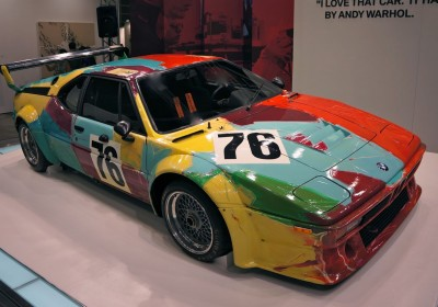 BMW Art Car Andy Warhol Art HK AM 02