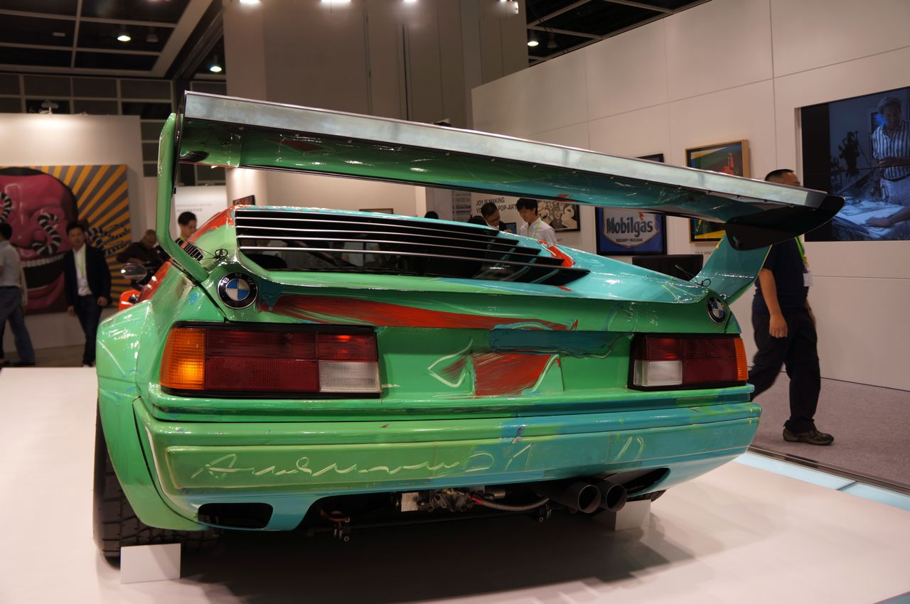 Art HK '12 Art Fair – BMW Art Car x Andy Warhol « Arrested ...