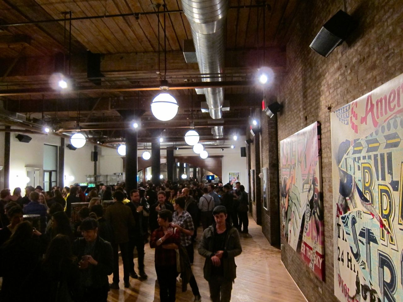 Openings: Faile x Vice Party @ Wythe Hotel « Arrested Motion