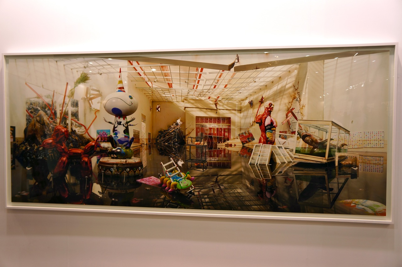 David Lachapelle seismic Shift Art HK AM 1