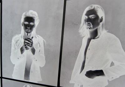 Karl Lagerfeld Roitfeld Channel black jacket AM 34