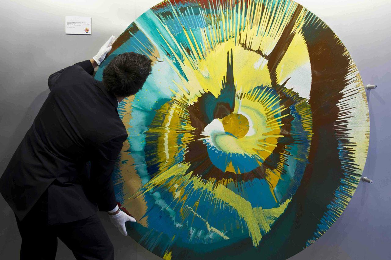 damien hirst donates artwork to burger king  u00ab arrested motion