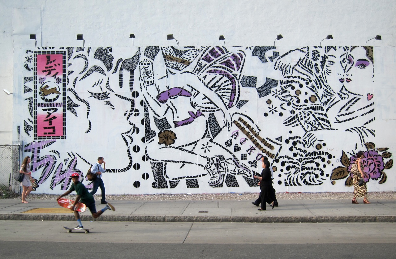 Aiko Houston Bowery Mural AM 1