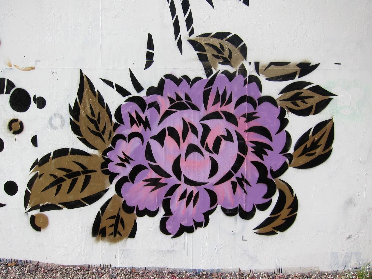 Aiko Houston Bowery Mural AM 1