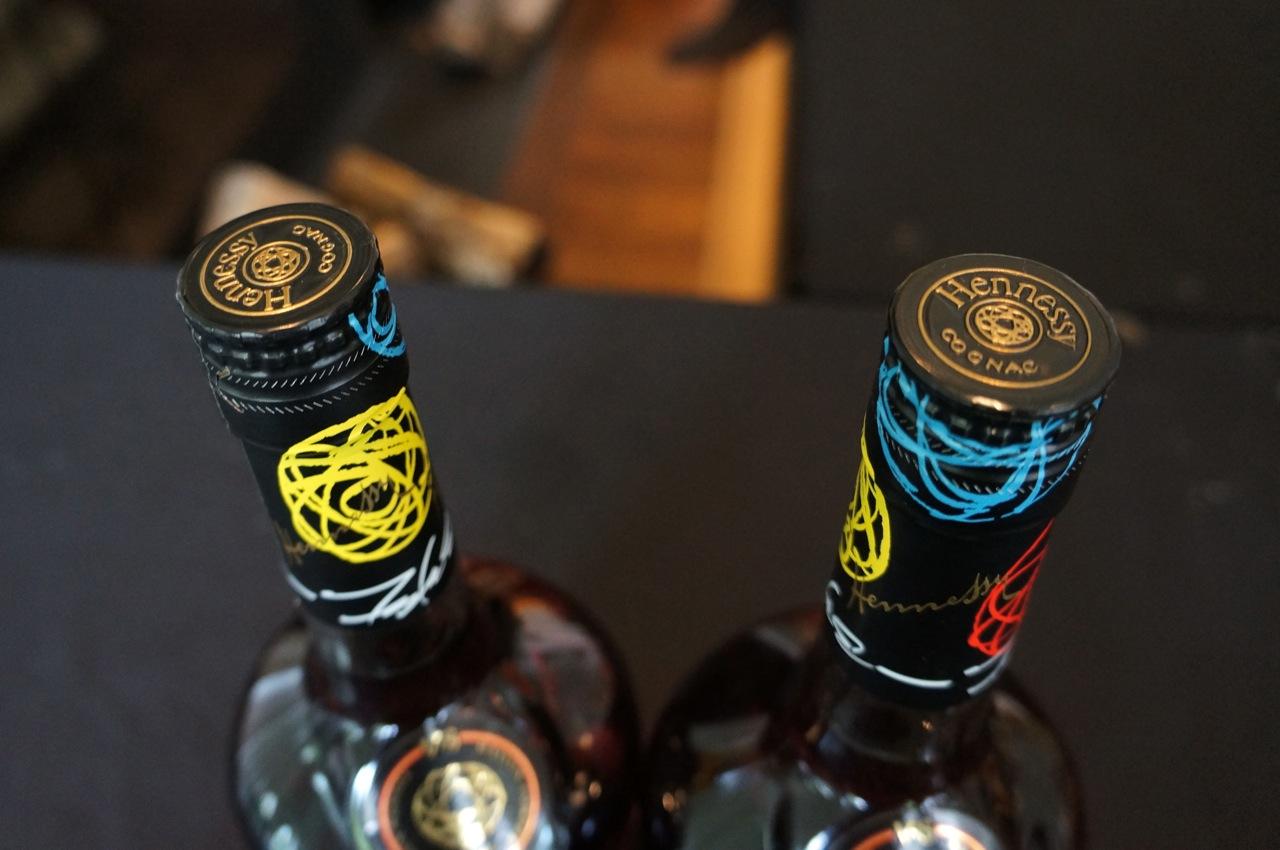 Futura Hennessy Bottle AM 01