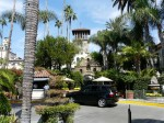 The historic Mission Inn in Riverside, California.