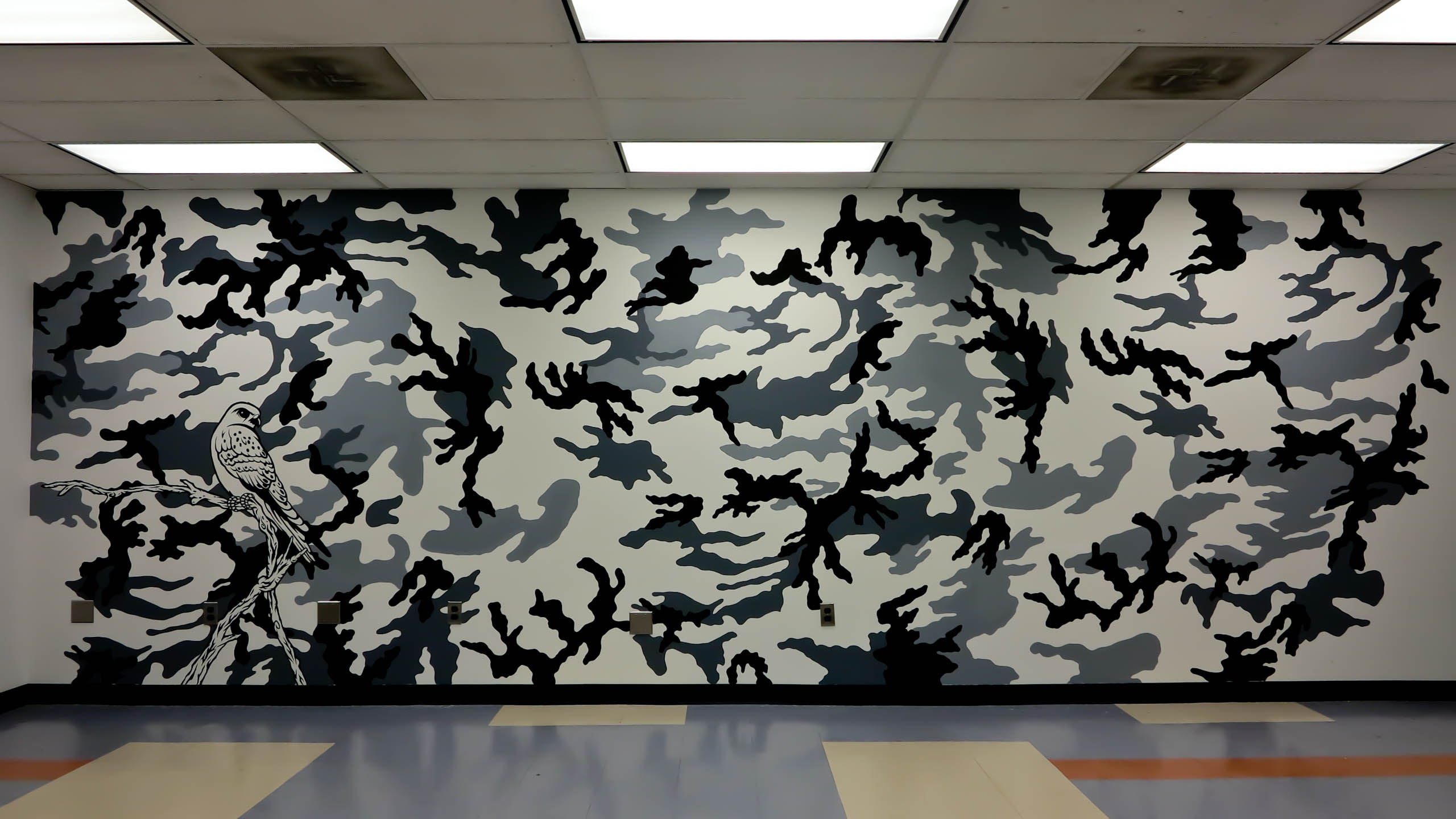 Camouflage wallpaper for walls for Camouflage wall mural