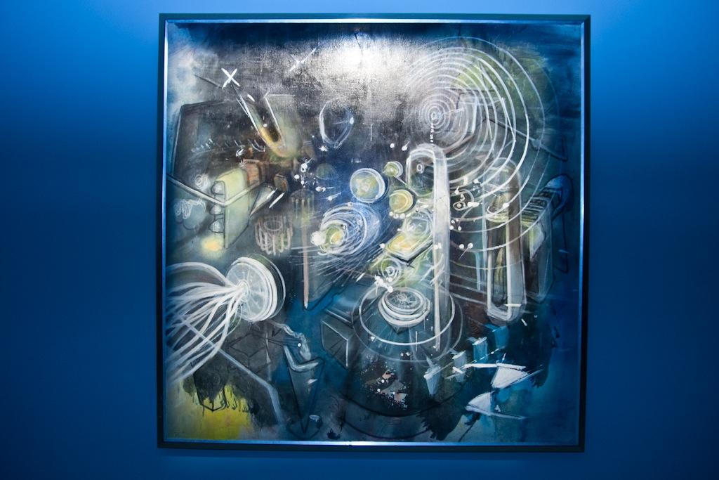 Deep Space Futura Matta Rammellzee Phase 2 AM 40
