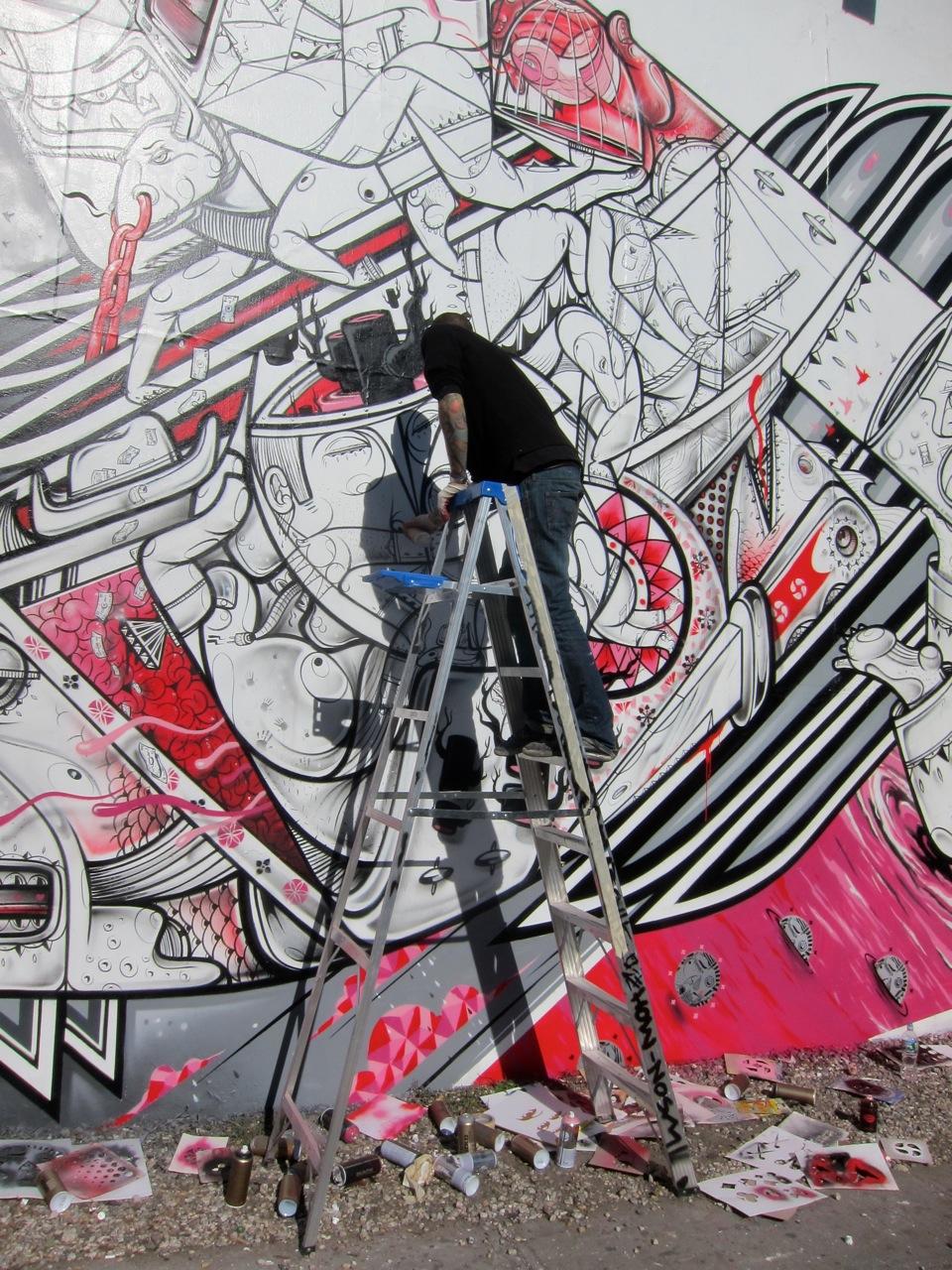 How & Nosm Houston Bowery Mural AM 35