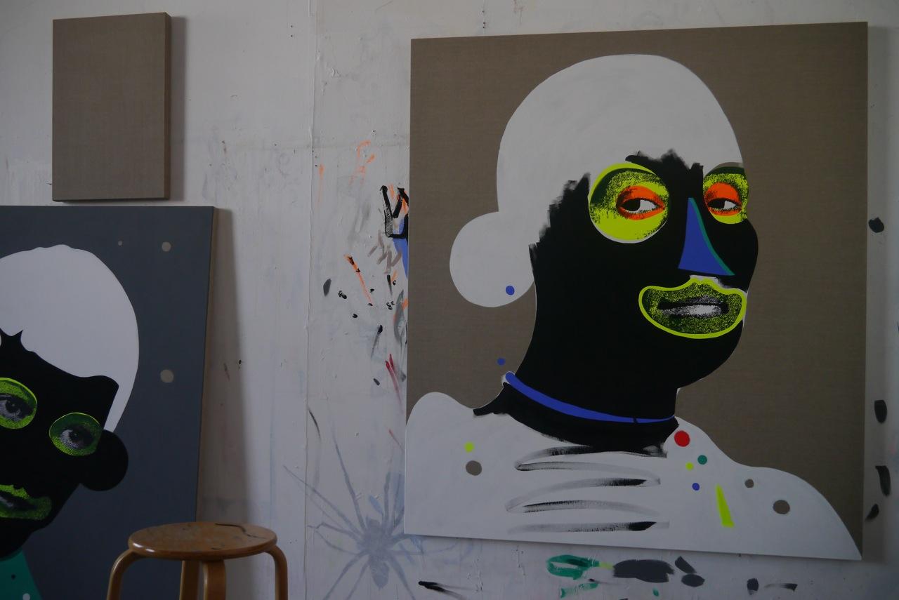 Paul Insect Studio Visit Opera AM 14