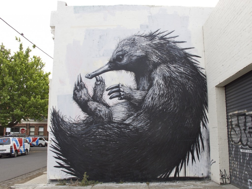 deansunshine_landofsunshine_melbourne_streetart_graffiti_ROA-echidna-fitzroy-9-1024x767
