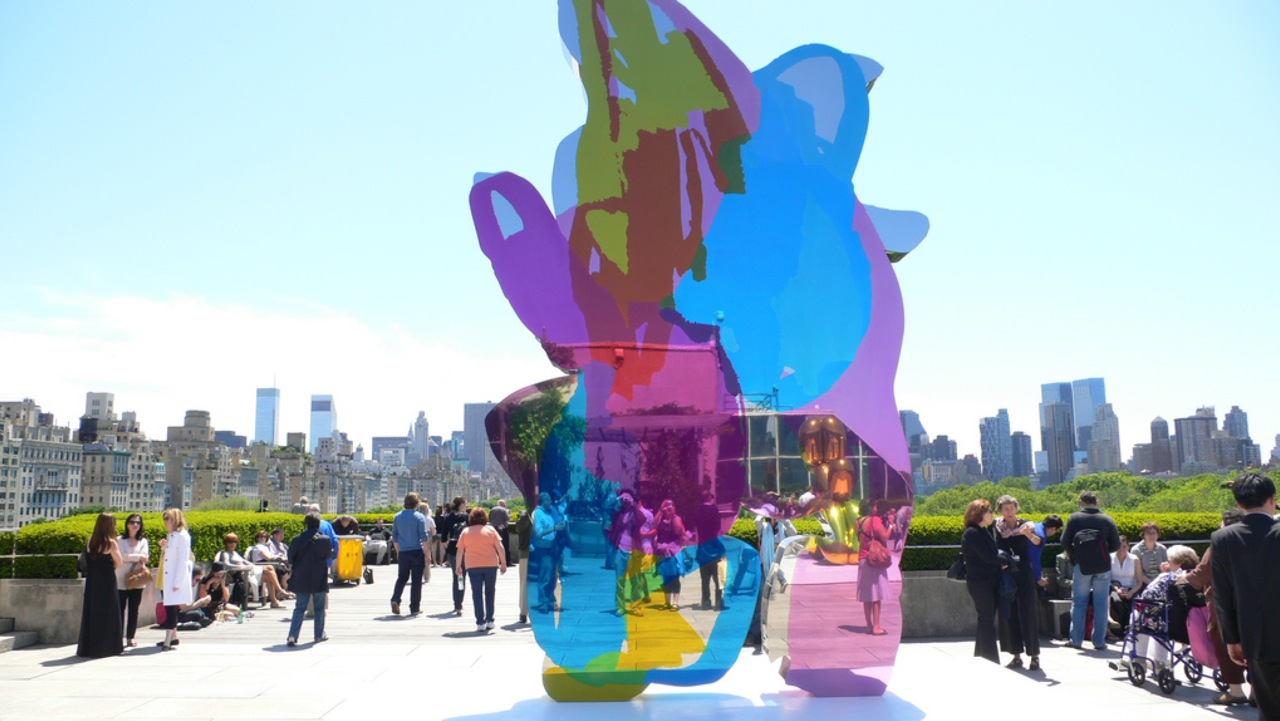 Coloring book by jeff koons - Upcoming Jeff Koons Gagosian Gallery Beverly Hills Arrested Motion