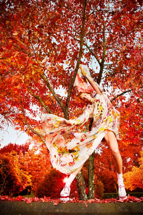 Daria Werbowy by Ryan McGinley (Earth Angel - W January 2013) 5
