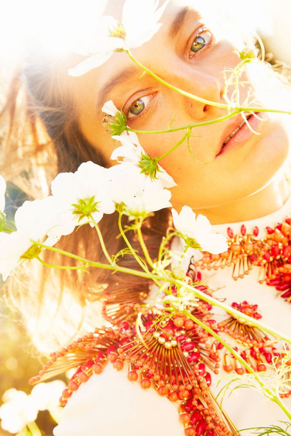 Daria Werbowy by Ryan McGinley (Earth Angel - W January 2013) 6