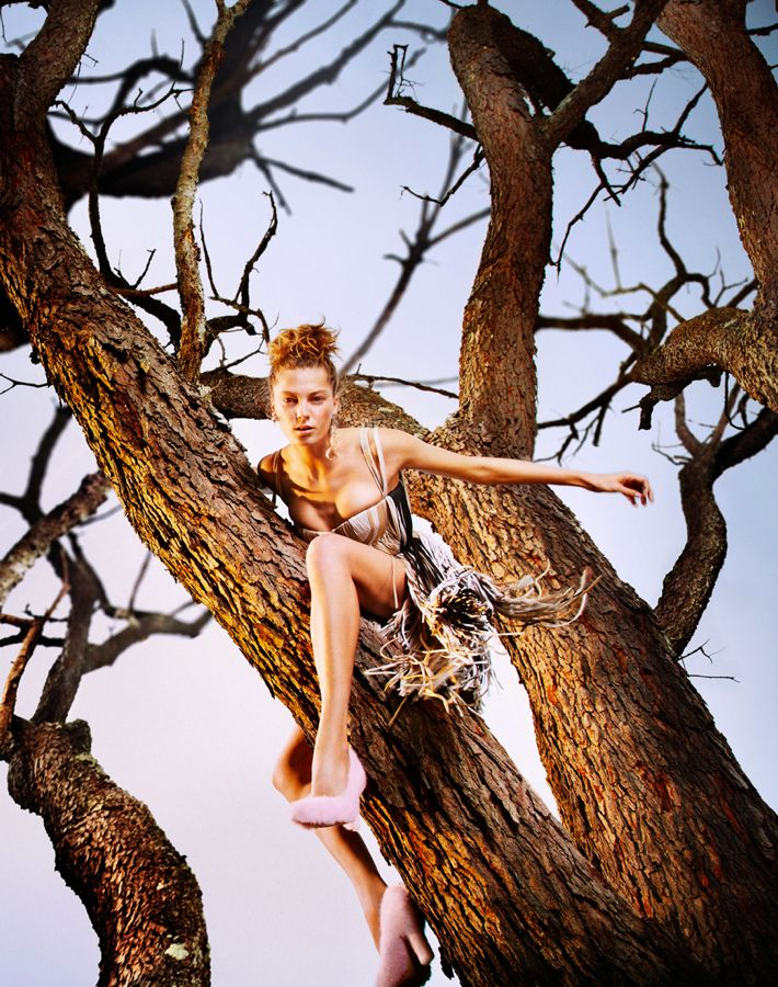 Daria Werbowy by Ryan McGinley (Earth Angel - W January 2013) 7