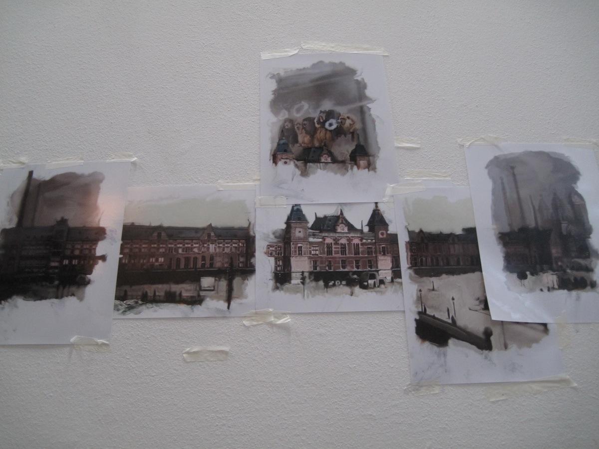 Chris Berens Studio Visit AM 01