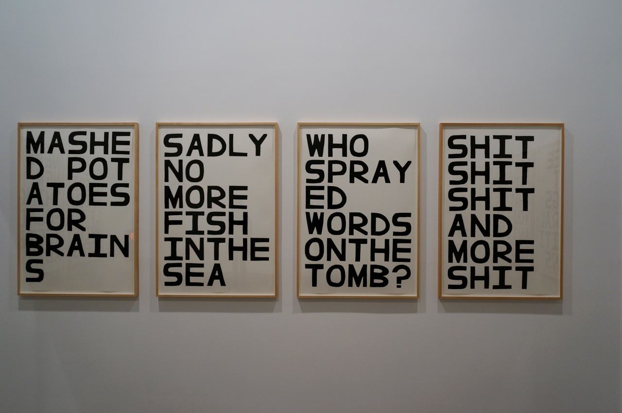 David Shrigley Anton Kern AM 01