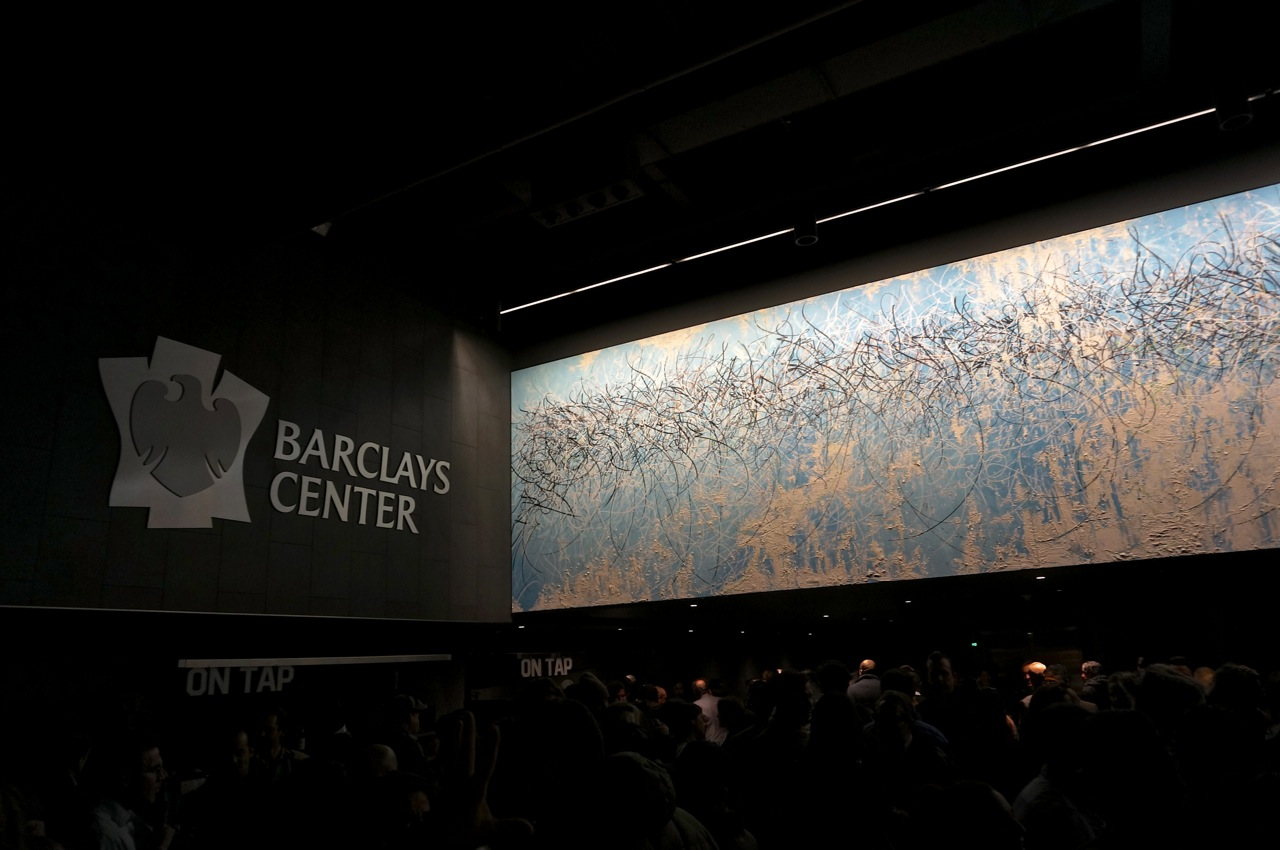 Jose Parla Barclays Center Mural Diary Brooklyn AM 01