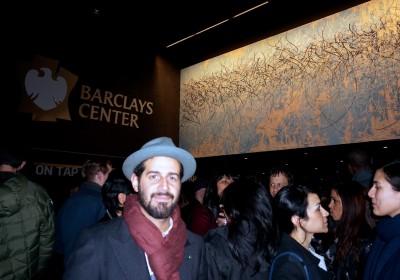 Jose Parla Barclays Center Mural Diary Brooklyn AM 19