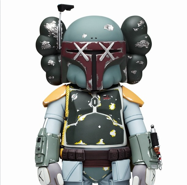 Kaws Boba Fett Original Fake AM 0