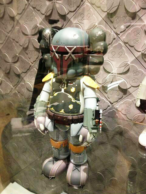 Kaws Boba Fett Original Fake AM 3