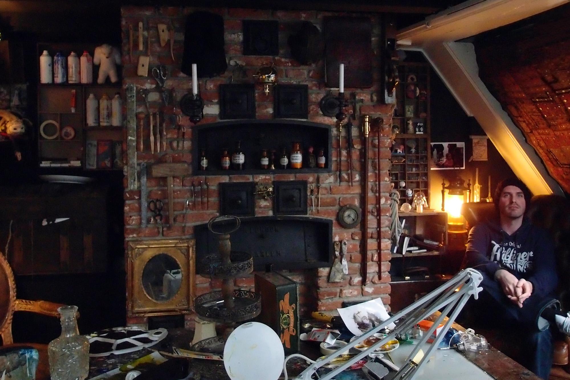 Chris Berens Studio Visit - Amsterdam 2012