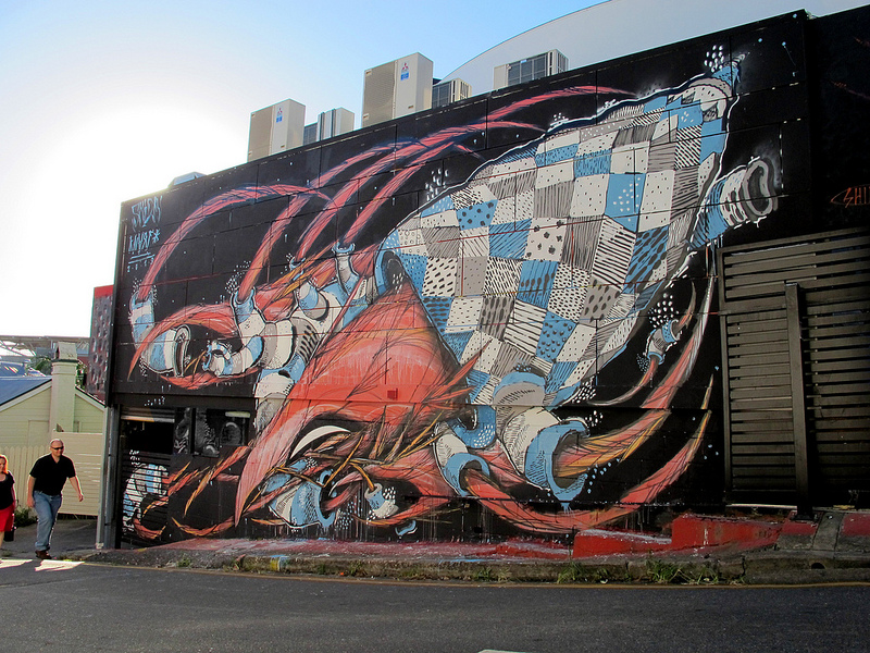 Shida x Knarf in Brisbane, Australia.